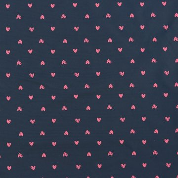 Waterafstotend - Blauw met roze hartje