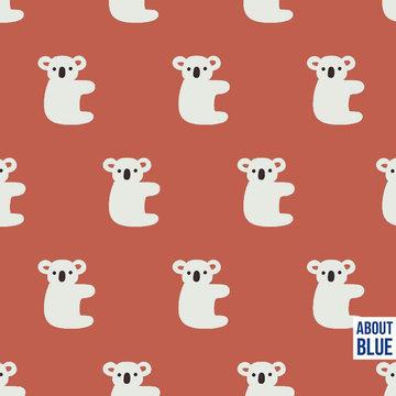 French terry - Hello koala