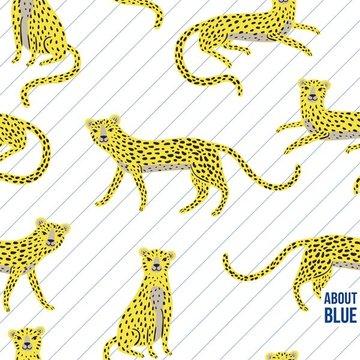 French terry - Say cheeta