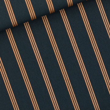 Canvas Twill - Playtime Three lines copper