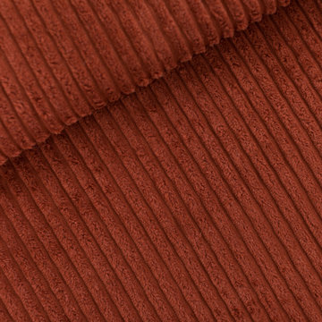 Corduroy brede rib - Playtime Sable brown