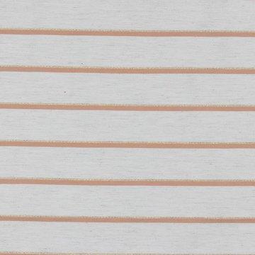 Viscoselinnen - Gestreept abrikoos met glitter