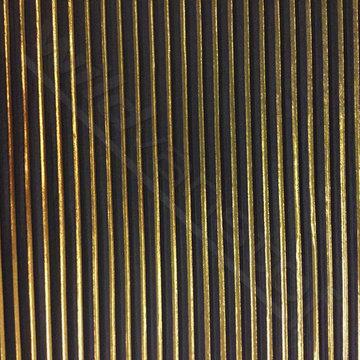 Plisse - Zwart goud lmv