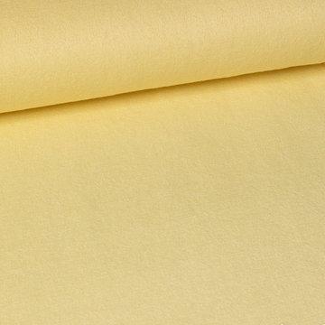 Badstof stretch- Fibremood geel met viscose