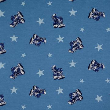 Tricot - Blauwe all stars