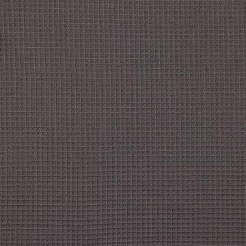 Gewafeld katoen - Donkergrijs 002