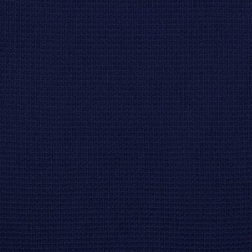 Gewafeld katoen - Donkerblauw 011
