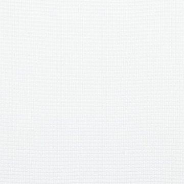 Gewafeld katoen - Wit 006