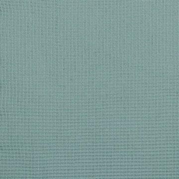 Gewafeld katoen - Grijsgroen 018