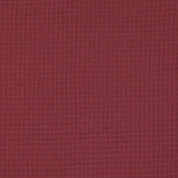Gewafeld katoen - Steenrood 027