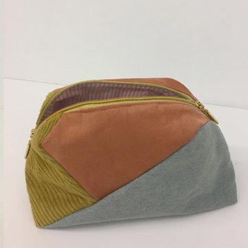 Stoffenpakket - Geo bag maxi pastel