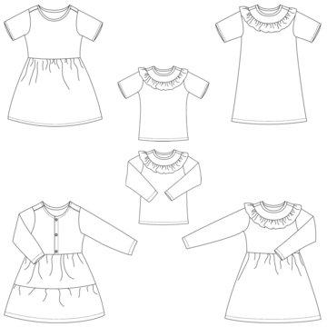 Bel'Etoile - Hazel jurk/top kinderen