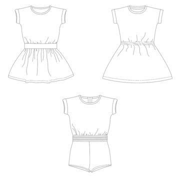 Bel'Etoile - Lux jurk/jumpsuit kinderen