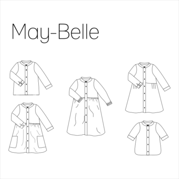 Iris May - May-Belle blouse/jurk dames