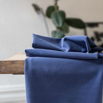 Tencel stretch twill - Koningsblauw