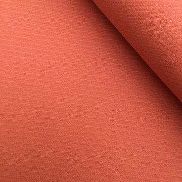 Lichte sweaterstof - Interlock meloenoranje