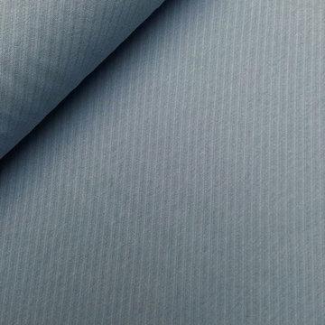 Lichte sweaterstof - Interlock licht jeansblauw