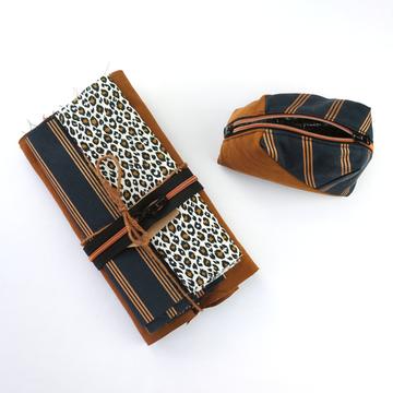 Stoffenpakket - Geo bag mini stripes