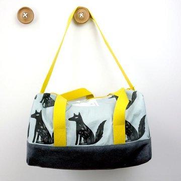 Stoffenpakket - Flo vierkante tas met wolven