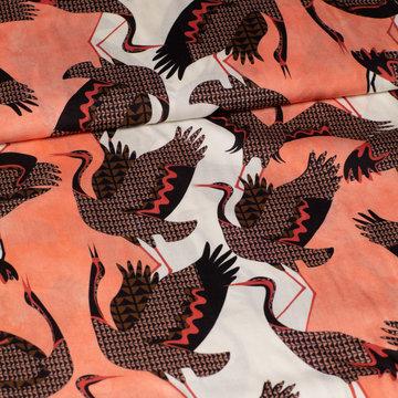 Viscose - Fibremood indira met vogels
