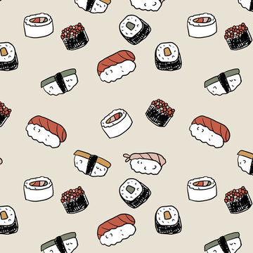 Tricot - Sushi creme