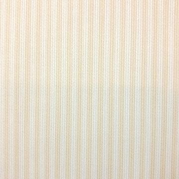 Katoen ottoman - Strepen beige-wit