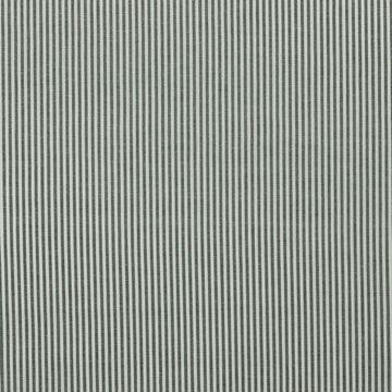 Katoen - strepen donkergroen-wit