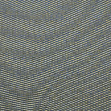 Jacquard tricot - Geel-blauw