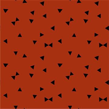 Tricot - Driehoeken op roest