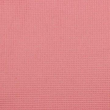 Gewafeld katoen - Roze 14