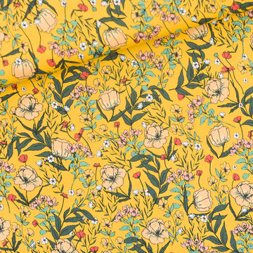 Lycra mat - Playtime Summer flowers