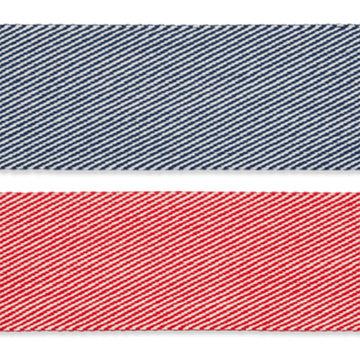 Tassenband - Diagonale lijnen 40 mm