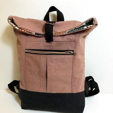 Stoffenpakket - Range backpack oudroze