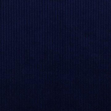 Ribfluweel - Dikke ribbel donkerblauw 007