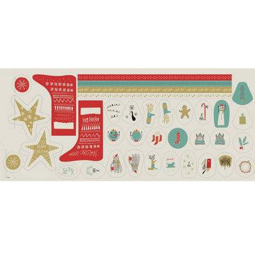 Canvas - Paneel kerst katia 60 cm