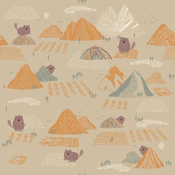 Softshell- Bever in de bergen