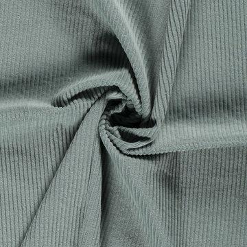 Ribfluweel - Dikke ribbel muntgroen 021