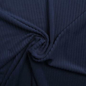 Tricot - Fluweel Donkerblauw 605