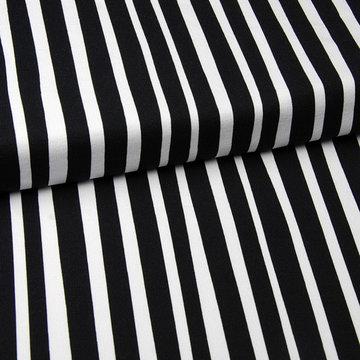 French terry - Eva Mouton zebra stripes