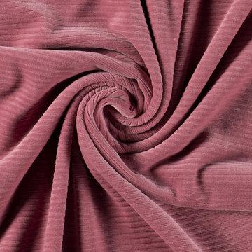 Tricot - Fluweel roze 014