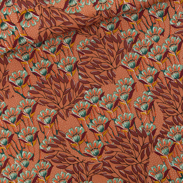 Canvas Twill - Playtime Gilly flowers