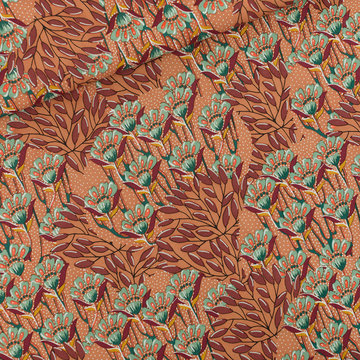Viscose rayon - Playtime Gilly flowers