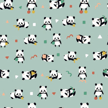 Jersey gots - Babypanda's op munt