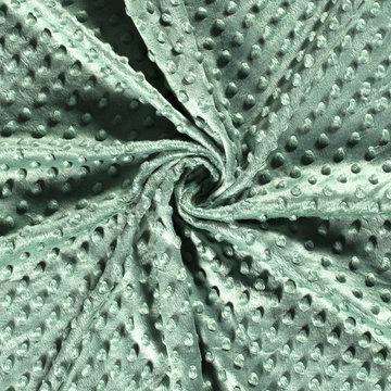 Minky fleece - Groen