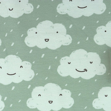 French terry - Happy when it rains