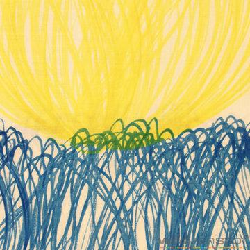 Coupon 100 / Tetra - Chorus blauw-geel