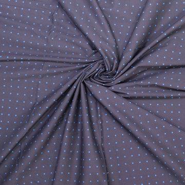 Katoen - Fibremood blauw met blauwe ster