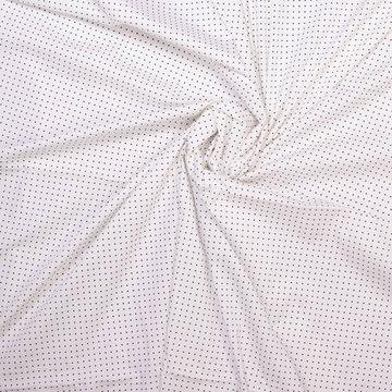 Katoen - Fibremood wit met ster