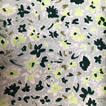 Linnen - Frisse groene bloemen