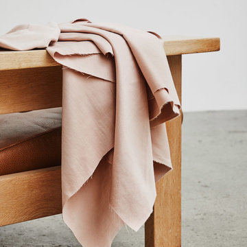 Katoen - Organic weighty cotton pink